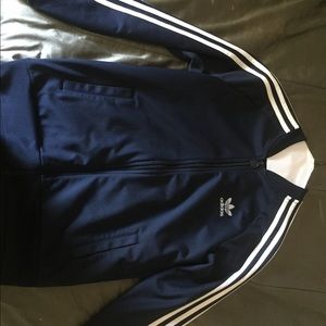 ( Dark Blue )  Adidas Jacket